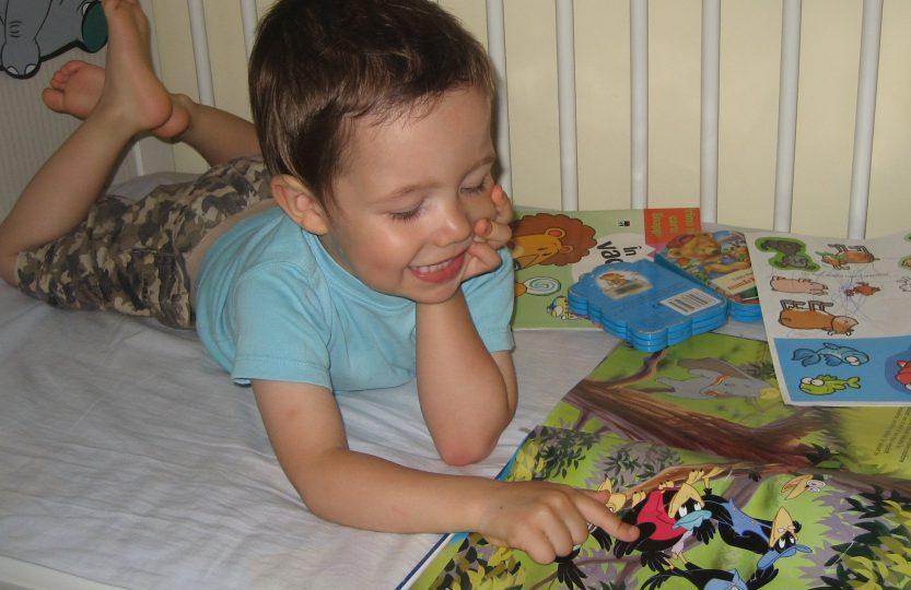 Copiii și dragostea de carte