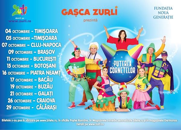 """Inspirați de """"Puterea Cornetelor"""", Gașca Zurli pleacă din nou în Turneu Național"""