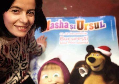 A fost un ieri ca niciodată, Masha și Ursul - Poveste live de Crăciun!